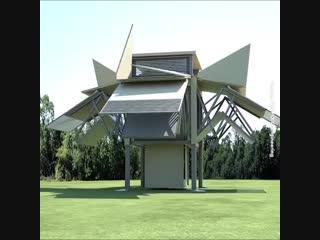 Космические технологии - дом строится сам - Проект  Дача