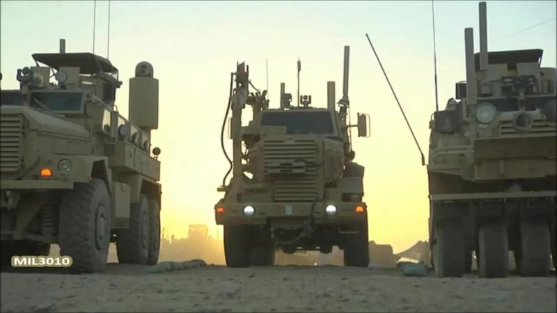 Саперы морской пехоты в Афганистане _ Боевые инженерные машины MRAP