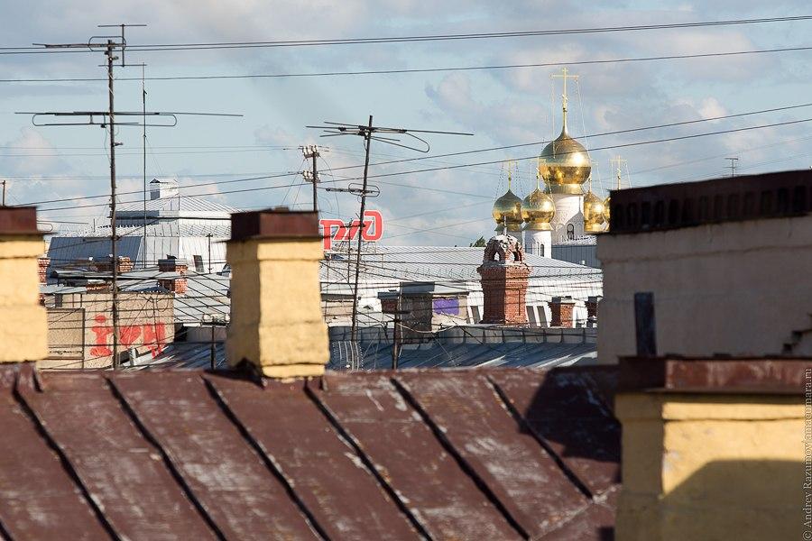 Прогулки по крыше в Санкт-Петербурге