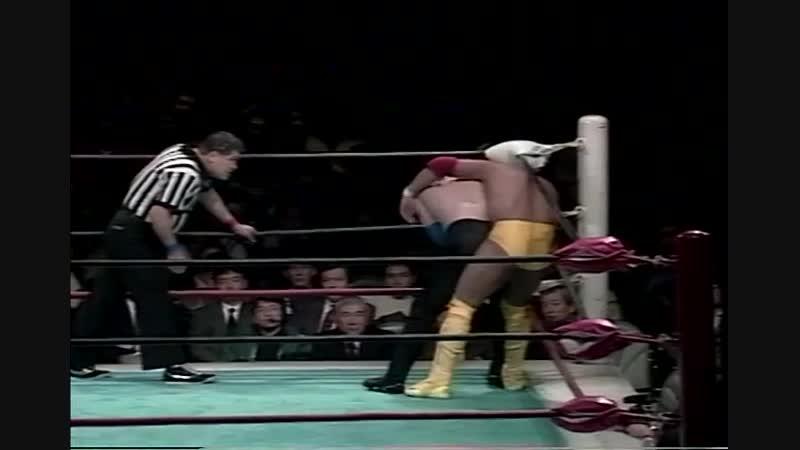1993.01.23 - Yoshinori Nishi vs. Yoshihisa Yamamoto
