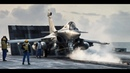 ☰ Rafale Marine ☰ French Navy On The Deck |