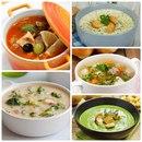 Топ-5 потрясающих супов для вкусного обеда