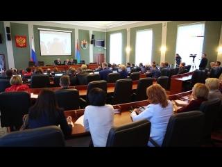 Глава Карелии отчитался о своей работе и работе Правительства перед парламентариями