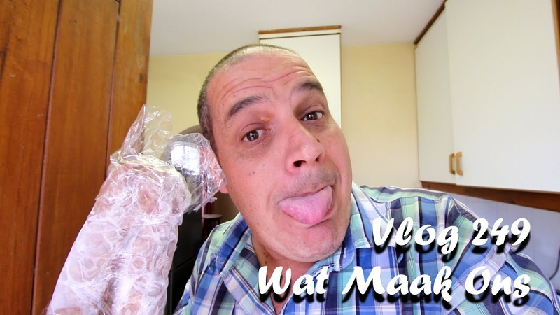 Vlog 249 Wat Maak Ons – The Daily Vlogger in Afrikaans