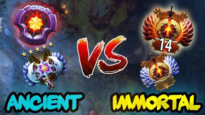 3x LVL 25 Master Tier Ancient Players vs TOP-14 Rank Immortal Players Stack - EPIC Battle Dota 2