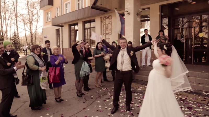 Свадьба (ЗАГС, прогулка, ресторан)
