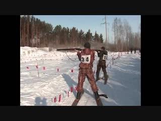 Охотничий биатлон Оричевского РООиР с ретушью. 2014 год.