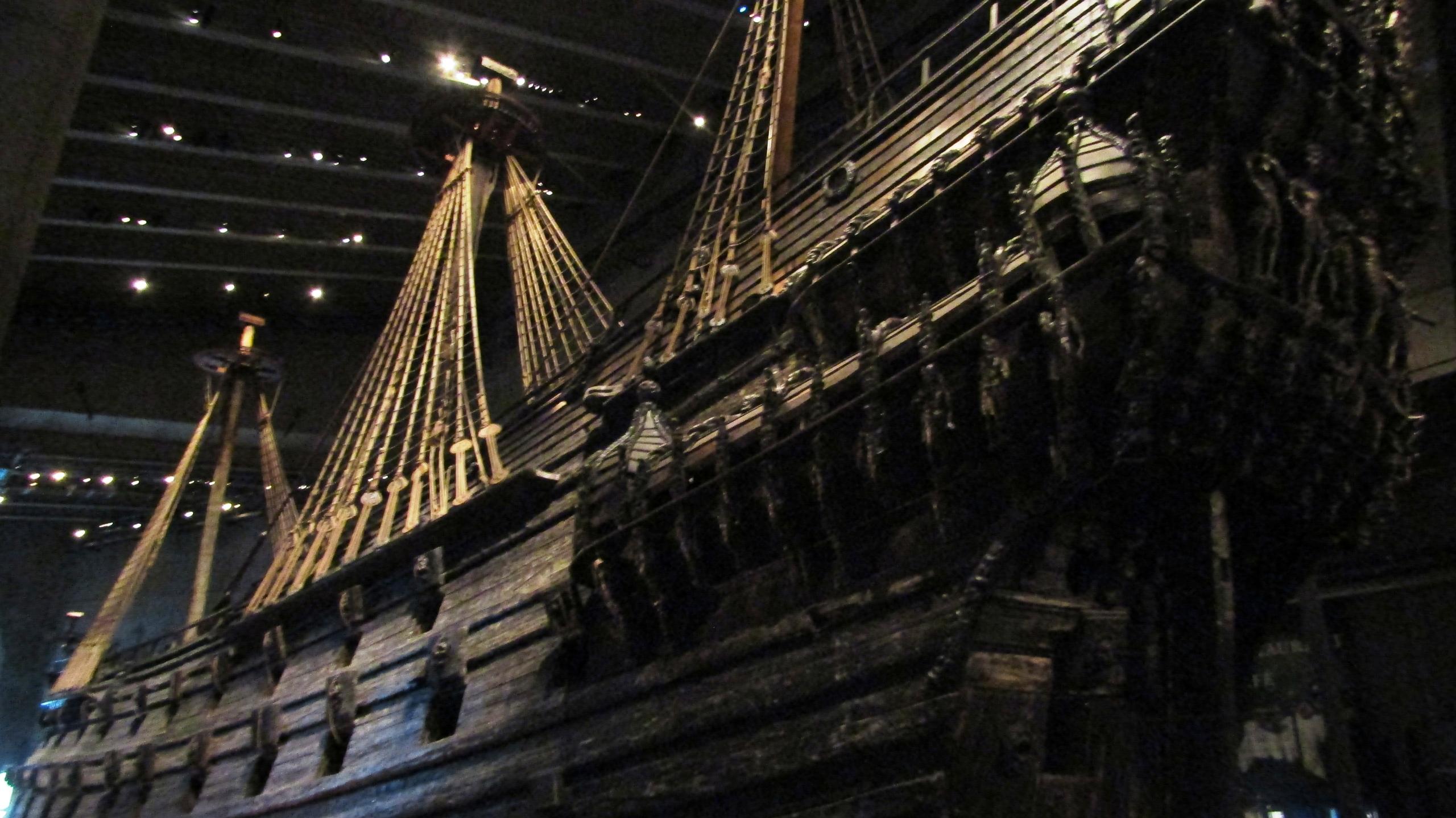 Музей Васа: единственный в мире сохранившийся до наших дней корабль XVII века