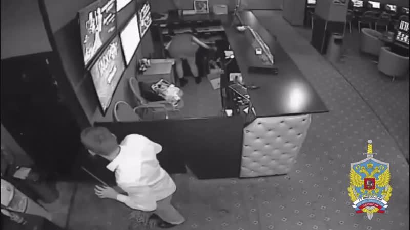 Ограбили букмекерскую контору