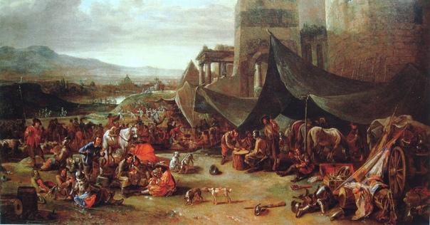 Разграбление Рима (1527) Ключевой эпизод войны Коньякской лиги, в ходе которого вышедшие из-под контроля многонациональные войска императора Карла V взяли «вечный город» и разграбили его, а