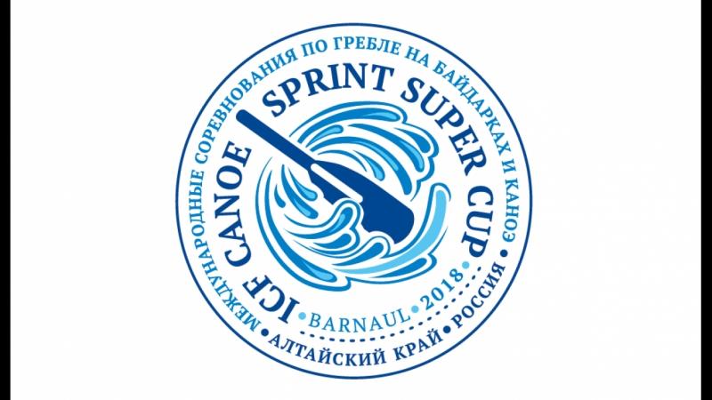 Прямая трансляция Международных соревнований по гребле на байдарках и каноэ «Кубок чемпионов – 2018».