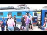Славянск, сегодня эвакуированные дети из Славянска прибыли в Крым, они под защитой России 30.05.2014