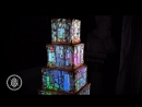 Lumley Castle | Fairytale 360 Projection Mapped Wedding Cake