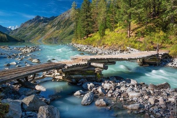 Горный Алтай, река Кучерла