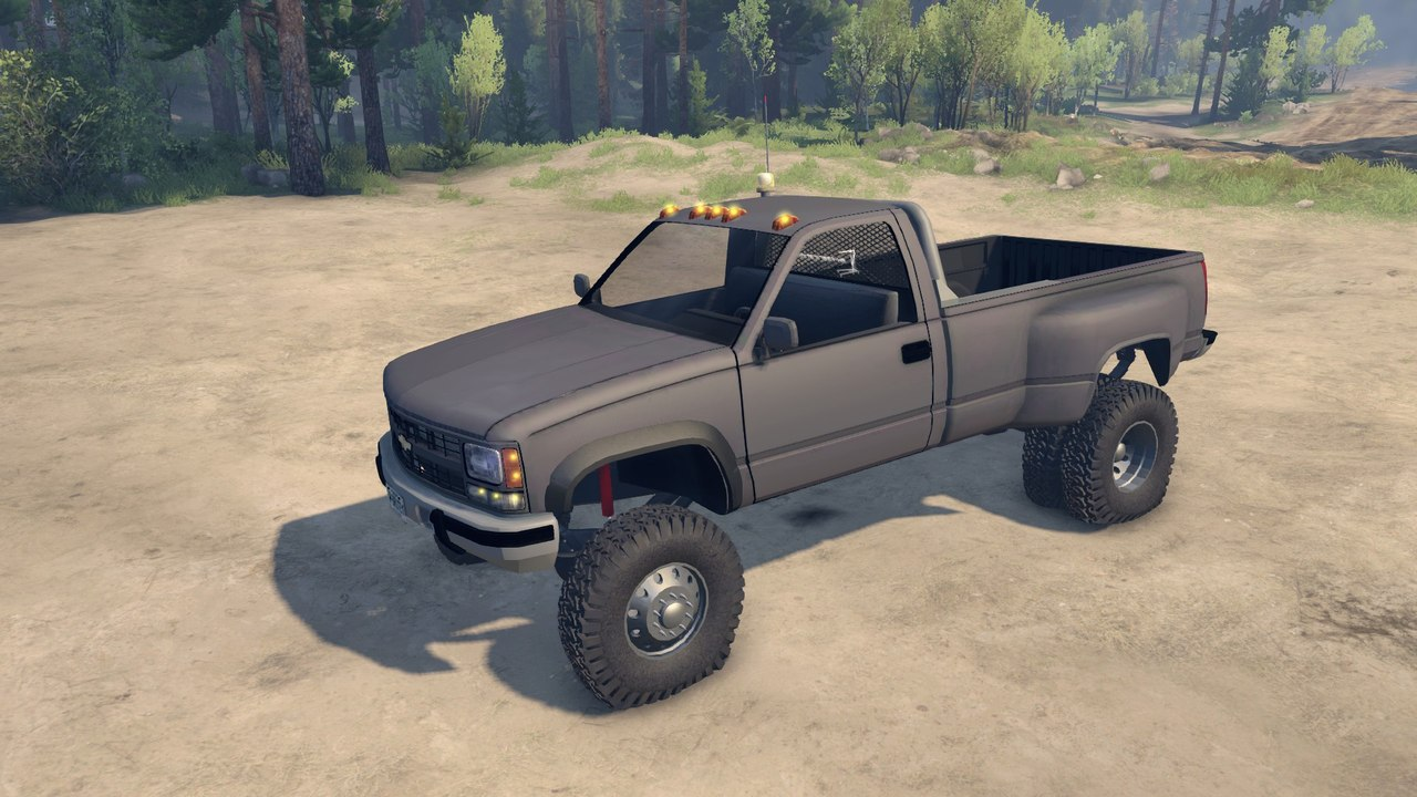 95 Chevy Regular Cab Dually v1.0 для Spintires - Скриншот 2