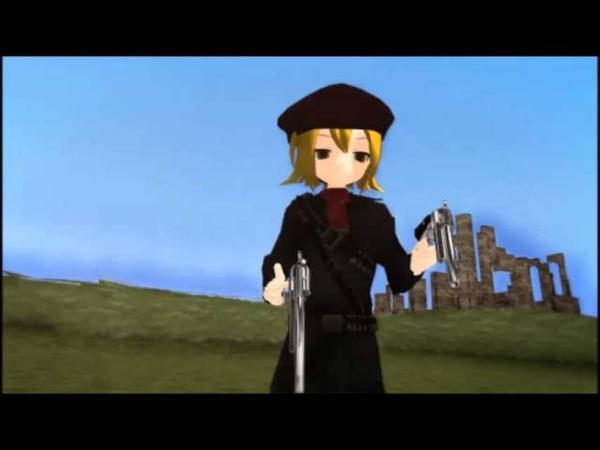 [MMD] - MGS3: Revolver Ocelot's Gun Spin Animation with Nero Akita