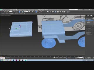 Basic Jeep willy speed model - 3ds max