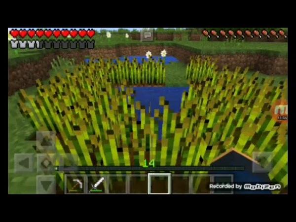 Зделал второй этаж огород и переделал загоны Выживание в minecraft pe 0 14 0 6 серия