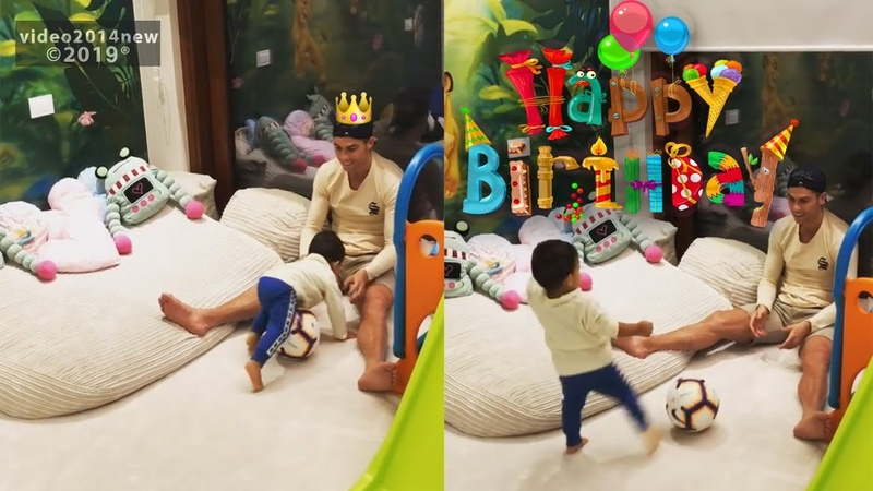 Cristiano Ronaldo fiancée Georgina Rodriguez shares video for his birthday playing with son Mateo