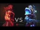DOTA 2 Rap Battle. Lina VS Crystal Maiden!