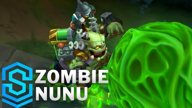 Zombie Nunu 2018 Skin Spotlight Pre Release League of Legends