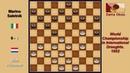 Wim Huisman NLD Marino Saletnik ITA Draughts World Championship 1952