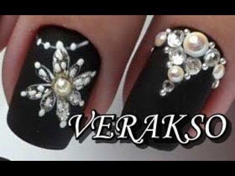 New Year Nail Art Designs from Verakso | Amazing Winter Nail Art Tutorials 87