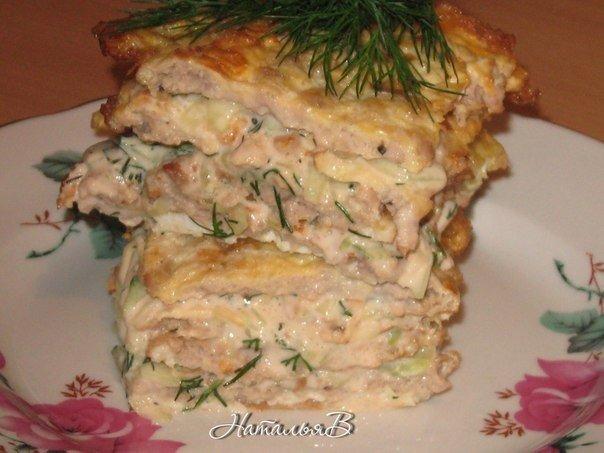 Яично-мясной тортик - вкус шавермы. Ингредиенты: Яйца - 4шт. Фарш