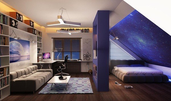 Квартира под крышей