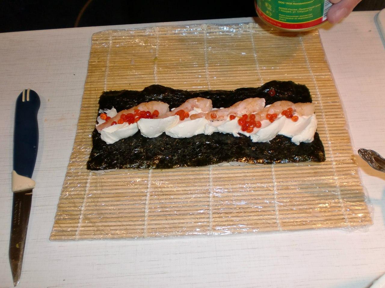 Суши дома фото рецепт пошагово в