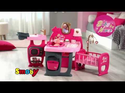 Smoby - duży kącik - opiekunka dla lalek Baby Nurse - lalki i akcesoria w Brykacze.pl