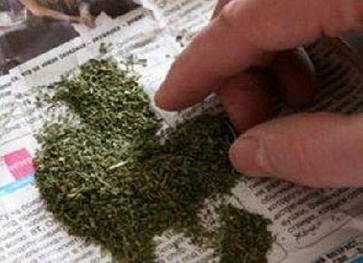 Под Таганрогом полицейские задержали мужчину со свертком марихуаны