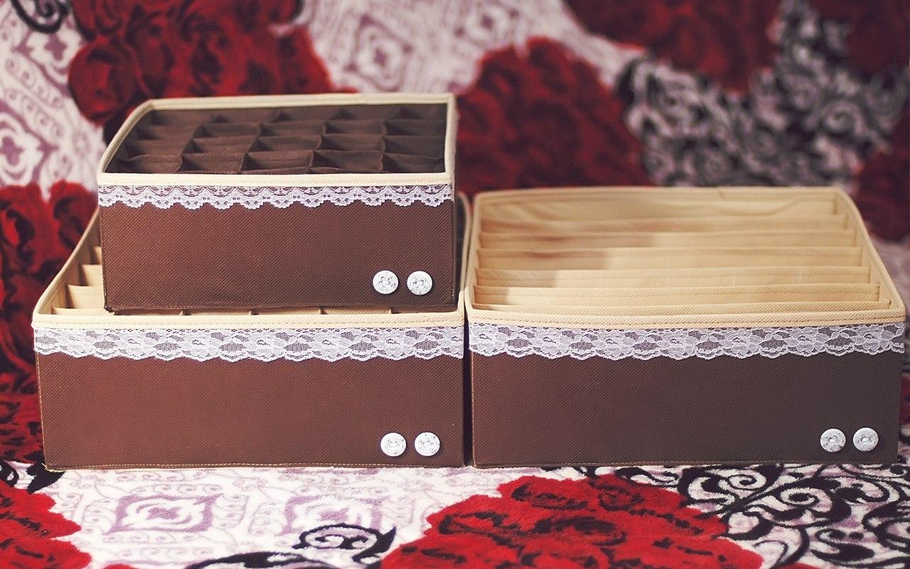 Коробка для белья своими руками мастер класс 858
