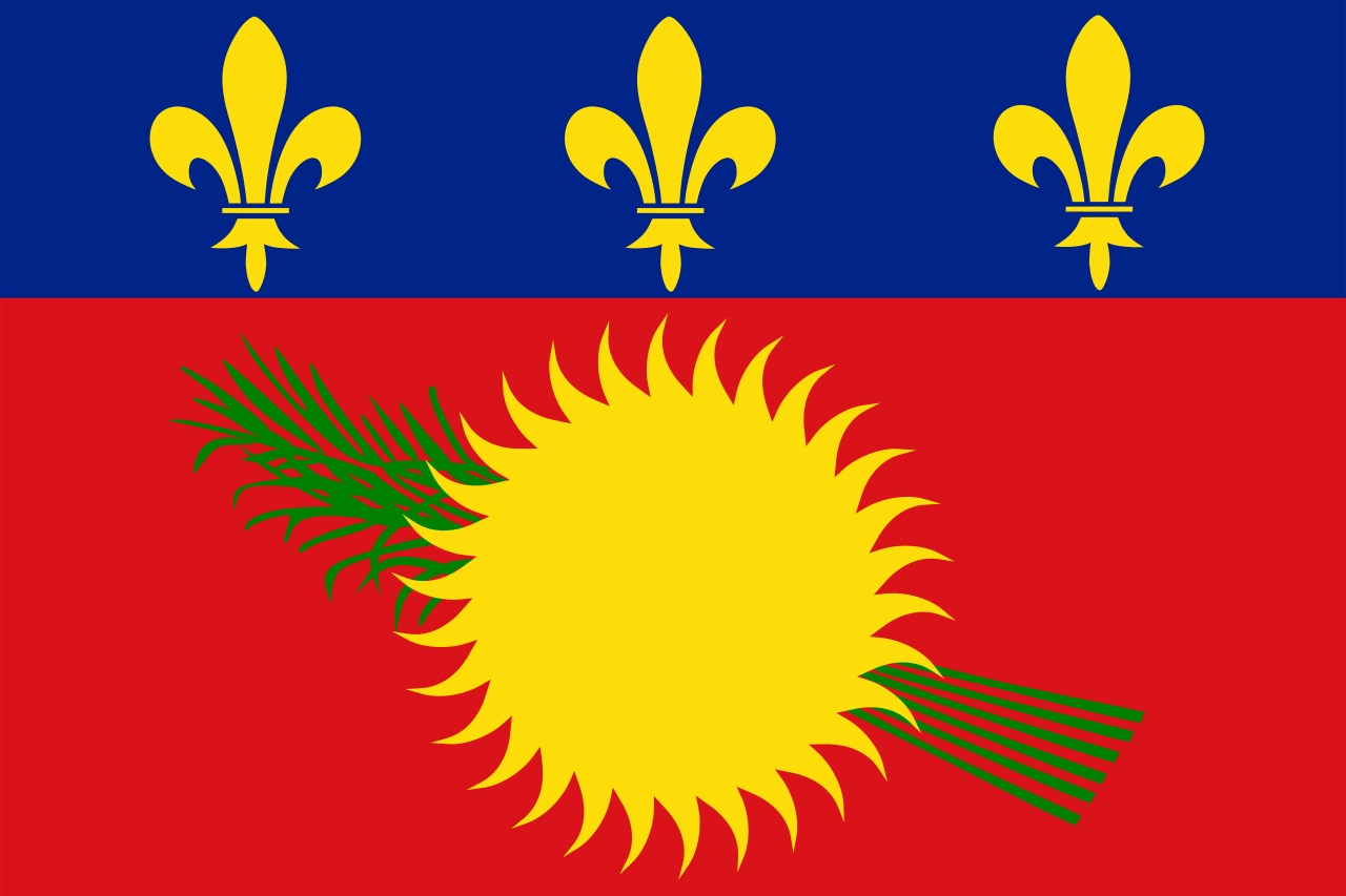 Флаг Гваделупа