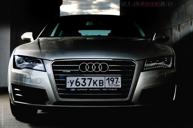 Audi A7 LED lights