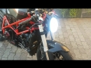 Ducati 749 Custom Cafe Racer Cafefighter SC Project CRT Exhaust
