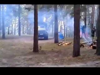 На съемках сериала КЛад Могилы Чингисхана