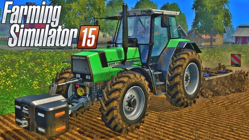 Утро Ферма Farming Simulator 15