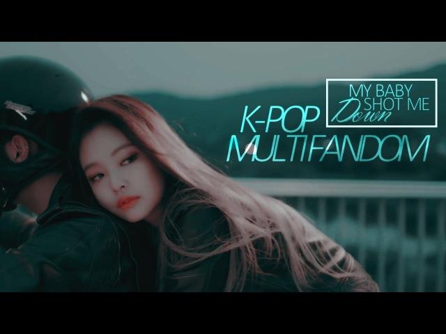 K-pop multifandom • my baby shot me down [thanks for 1k subs♡]