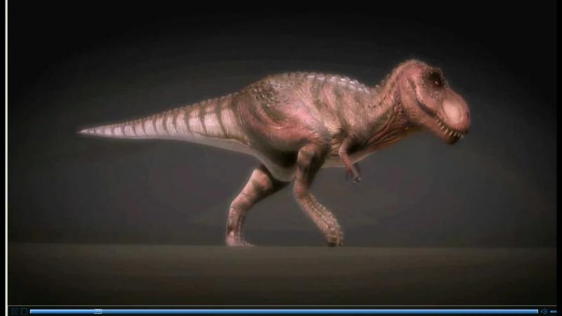 Рычащий Динозавр