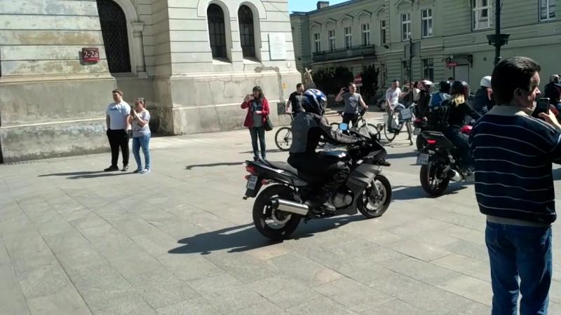 Otwieranie moto sezonu w Łodzi(2018)