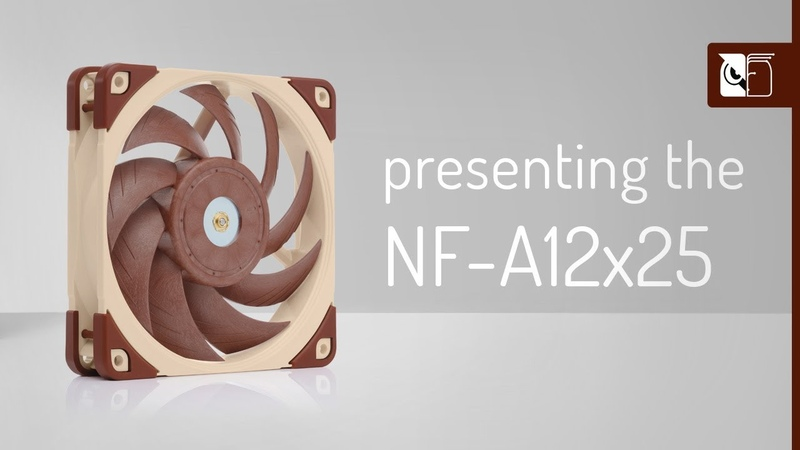 Noctua NF A12x25 next generation 120mm fan