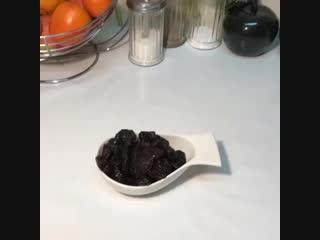 Вырезка с черносливом и горчицей