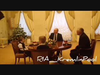 Путин встретился с больным мальчиком из Ленобласти