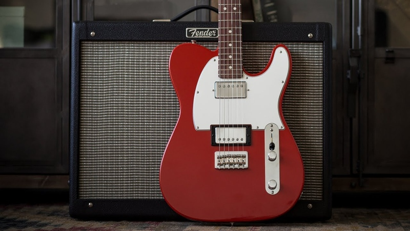 Fender Player Series Telecaster HH Electric Guitar - Demo and Features