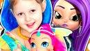 ШИММЕР И ШАЙН Отпуск Шиммер Волшебная Лампа и Ковер самолет для Джинов Видео для детей