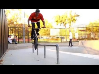 How To Toothpick Hop Over BMX with Demarcus Paul