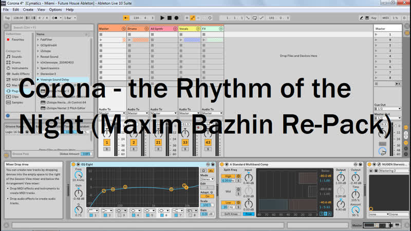 Corona The Rhythm of the Night Maxim Bazhin Re Pack