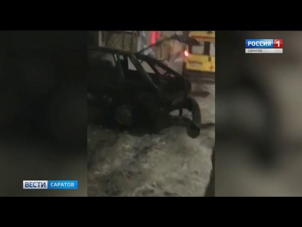 Массовая авария блокировала проезд в районе Сенного рынка