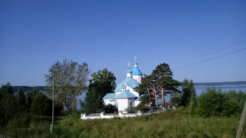 Старинный Храм Рождества Христова в Усть Гаревой Пермский край